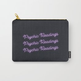 Psychic Readings Neon Sign Carry-All Pouch