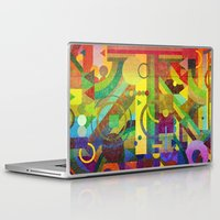 kandinsky Laptop & iPad Skins featuring Future Patterns. by Nick Nelson