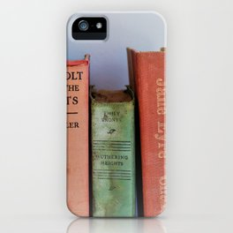 Wuthering Heights and Jane Eyre iPhone Case