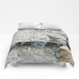 Falling Water (Chipping Sparrow) Comforters