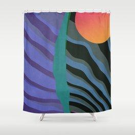 Crepuscular Streams Shower Curtain
