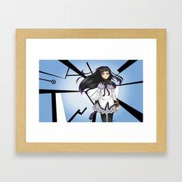 Homura Akemi Framed Art Print