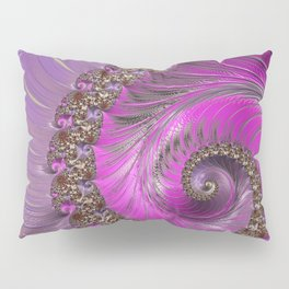 Pink And Purple Pillow Sham