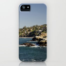 Lazy Day in La Jolla iPhone Case