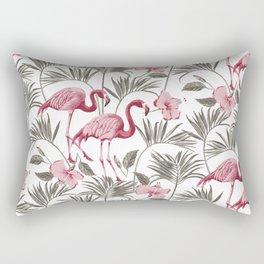 """Pink flamingo design """"Frida"""" Rectangular Pillow"""