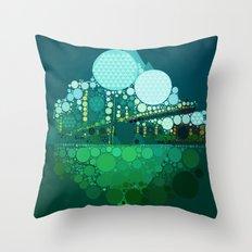 BK Bridge Throw Pillow