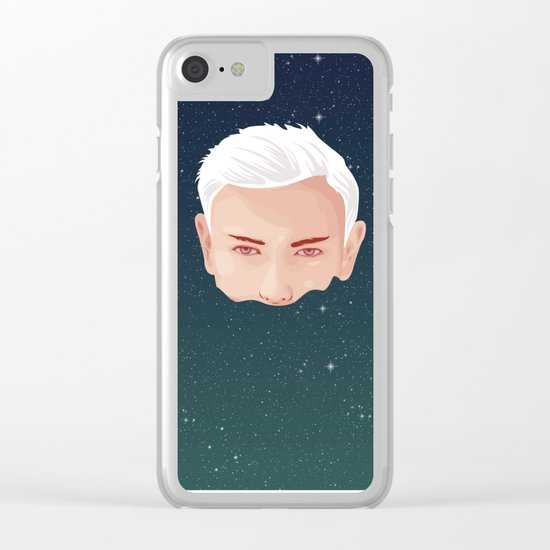 ME AND OTHER BLACKHOLES Clear iPhone Case