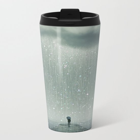 Weathering the Storm Metal Travel Mug