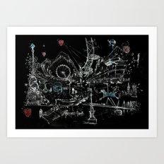London Southbank Art Print