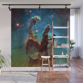 Eagle Nebula's Pillars Wall Mural