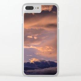 Dreamy Dusklight Clear iPhone Case