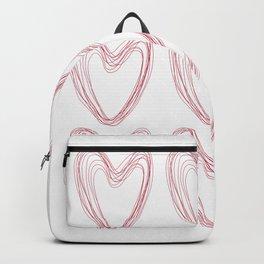 Nine Red Hearts Backpack