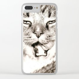 Yum Clear iPhone Case