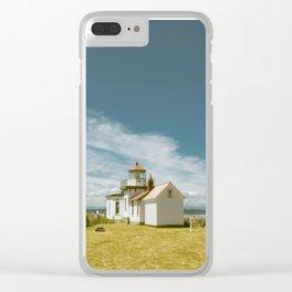 Hopperesque Clear iPhone Case