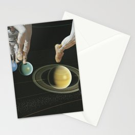 Planet hopping Stationery Cards