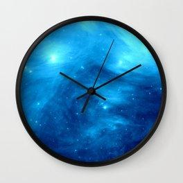Blue Galaxy : Pleiades Star Cluster nebUla Wall Clock