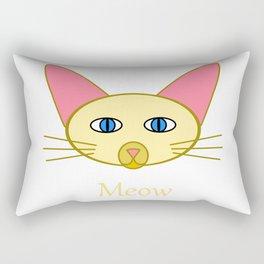 Siamese Cat, Meow Rectangular Pillow