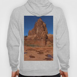 Red Rockformation in Arches NP Hoody