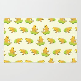 Frogs pattern Rug