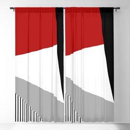 Modern geometry Blackout Curtain
