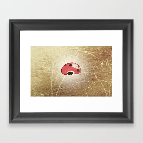 Mr. Ladybug Framed Art Print
