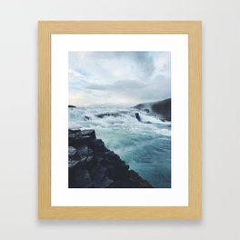 Gullfoss #1 Framed Art Print