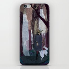 Ghosty Woods iPhone Skin