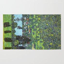 Gustav Klimt - Slope at Unterach Rug