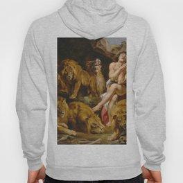 Daniel in the Lions' Den by Peter Paul Rubens Hoody