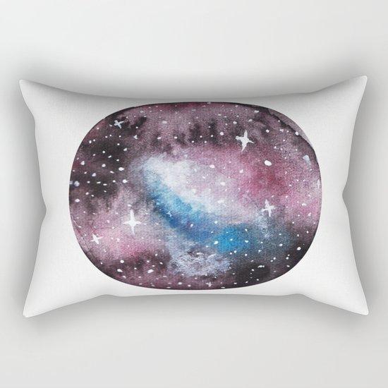 Medusa Nebula Painting Rectangular Pillow