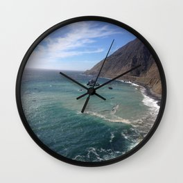 Amazing Ocean View Wall Clock