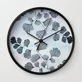 vintage floral pattern in pastel colors Wall Clock