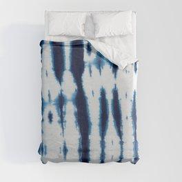 Linen Shibori Shirting Duvet Cover