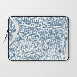 Philadelphia City Map Laptop Sleeve
