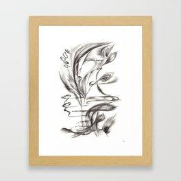 Feather Lover Framed Art Print
