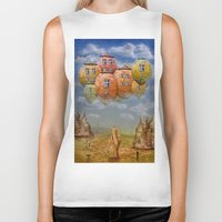 home sweet home Biker Tanks featuring Sweet Home by teddynash