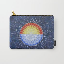 Sunrise/Moonset Mandala Carry-All Pouch