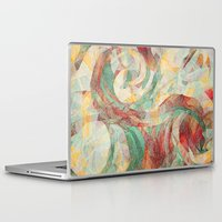 reassurance Laptop & iPad Skins featuring Rapt by Jacqueline Maldonado