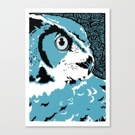 'Owl' by Sarah King Canvas Print
