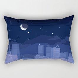 Seattle Nights Rectangular Pillow