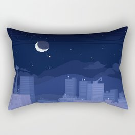 Seattle Nights Rectangular Pillow