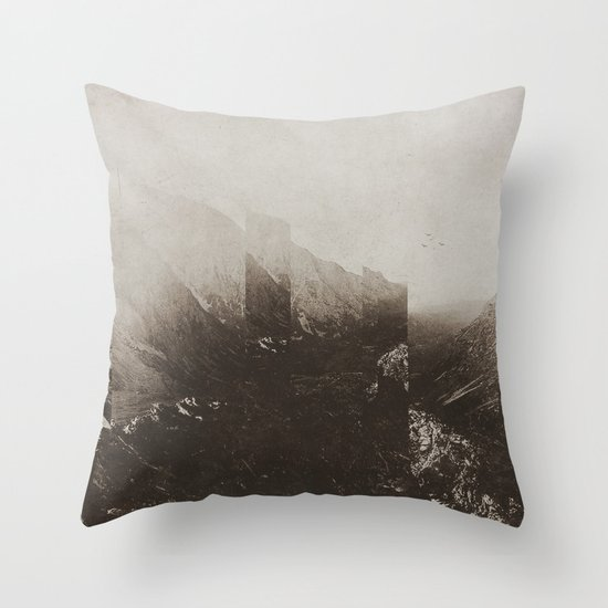Fractions A60 Throw Pillow
