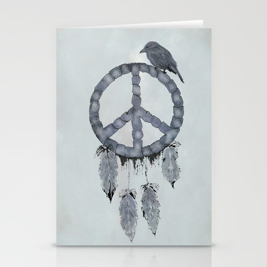 A dreamcatcher for peace Stationery Cards