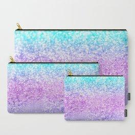 Unicorn Girls Glitter #9 #shiny #decor #art #society6 Carry-All Pouch