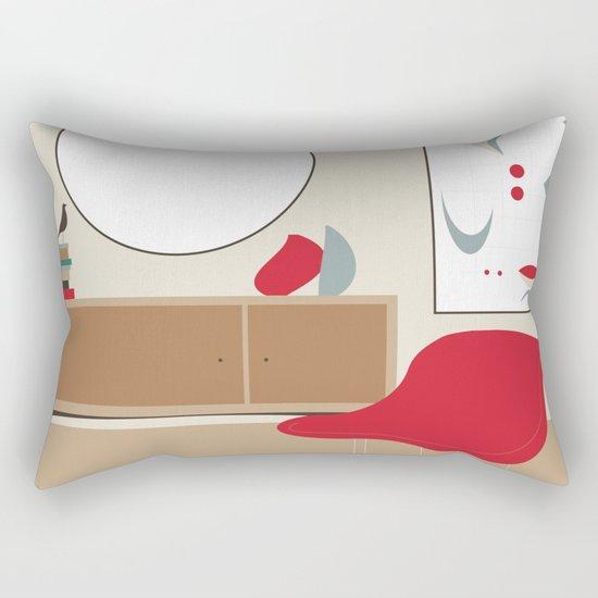 Inside Mid-century modern 01_19 Rectangular Pillow