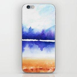 Purple Naturescape iPhone Skin