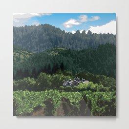 Napa Valley - Far Niente Winery, Oakville District Metal Print