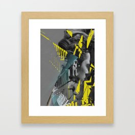 on accident Framed Art Print