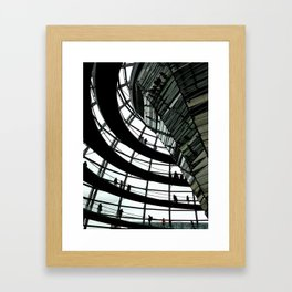Inside the Dome Framed Art Print