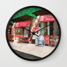 Faith's Pen Wall Clock